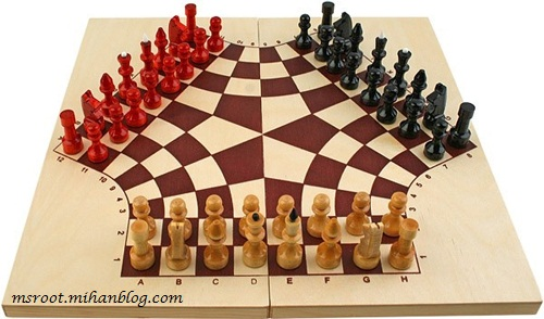 شطرنج 3 نفره